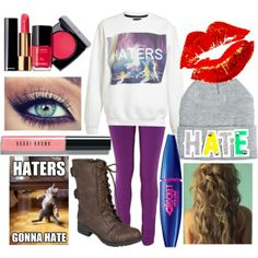 """""""Haters Gonna Hate"""" by petraowusu301 on Polyvore"""