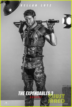 Kellan Lutz'Expendables 3' Character Posters | kellan lutz jason statham military hotties for expenda...