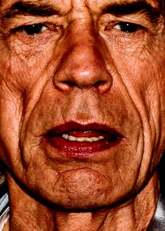 Celebrity closeups.  Mick, you're not looking so good, but I love you anyway.