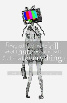 TVhead art || Mino-dono More