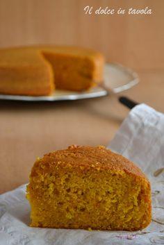 Torta carote e mandorle  http://www.ildolceintavola.ifood.it/