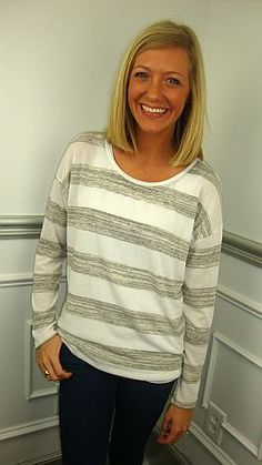 This tunic is cute and casual!