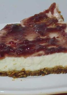 Tarta de queso para diabéticos sin horno