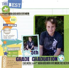 5th Grade Graduation - Scrapbook.com