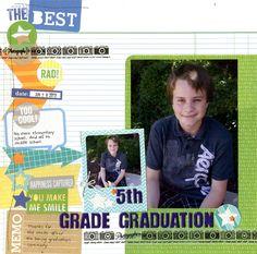 5th Grade Graduation - Scrapbook.com