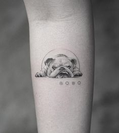 Cute Dog Tattoo Ideas Art And Design Cuded Com - Cute Dog Tattoo Ideas January Ere Leave A Comment Ladies Usually Choose Very Popular Tattoos Of Dog Paws On The Buttocks And Chest The Dog Is The Most Trusted Mans Friend It K Tattoo, Tattoo Style, Love Tattoos, Little Tattoos, Tiny Tattoo, Tattoo For Dog, Tatoos, Boxer Dog Tattoo, Tattoo Horse
