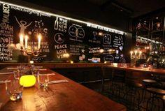 """candelabros de bronce realizados para el bar """"Peugeot lounge """" en palermo bs.as"""