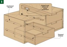 Wood Drawer Guides