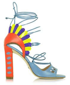 Get your Super Shoe Porn Fix. In lust this month with stunning shoes by Olgana, Moschino, Pierre Hardy, Paula Cademartori, Camilla Elphick.