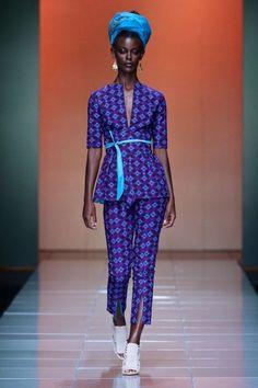 Mercedes Benz Fashion Week Africa Bongiwe-Walaza-for-M South African Fashion, African Fashion Designers, African Inspired Fashion, African Print Fashion, Tribal Fashion, Fashion Prints, African Attire, African Wear, African Dress