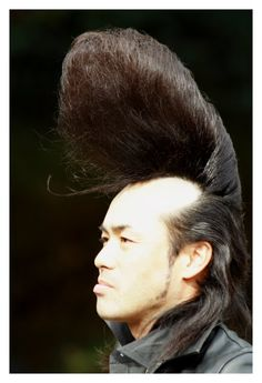 One of the Japanese Rockers that dance regularly (for years now!) outside the gates of Yoyogi Park, Harajuku, Japan. S)