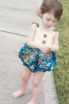 Simple Life Pattern Company Romper add on pattern for Bella, Ayda, Cora & Molly sizes NB -24 months bubble romper baby elastic legs and snap crotch babies summer spring style fashion Beautiful, easy and modern child sewing PDF patterns