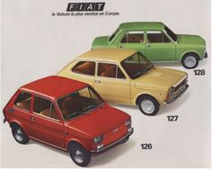 First new car that I owned. Fiat 128 1974