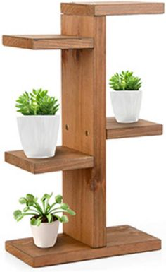 These DIY plant stand ideas can not only increase your indoor planting space but also enhance the beauty of your home. These DIY plant stand ideas can not only increase your indoor planting space but also enhance the beauty of your home. Mini Plants, Small Plants, Cool Plants, Indoor Plants, Indoor Outdoor, Wooden Plant Stands, Diy Plant Stand, Decoration Plante, Flower Stands
