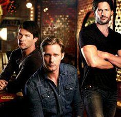 Team Handsome on True Blood