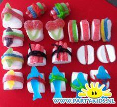 traktaties: Beschrijving van Sushi van snoep