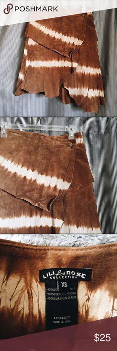 Deer Hide Skirt Great for Pocahontas Halloween costume / beautiful skirt / MAKE AN OFFER Skirts