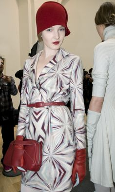 Backstage Cacharel Fall Winter 2012-2013 collection