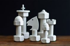 http://88floors.tumblr.com/post/79057118616/nuts-bolts-chess-set-unknown-designer