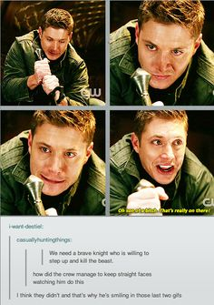 Dean Winchester everyone.... LOL