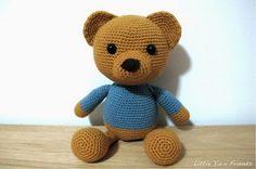 Mesmerizing Crochet an Amigurumi Rabbit Ideas. Lovely Crochet an Amigurumi Rabbit Ideas. Teddy Bear Patterns Free, Crochet Teddy Bear Pattern, Crochet Baby Toys, Crochet Amigurumi, Crochet Bunny, Cute Crochet, Amigurumi Doll, Amigurumi Patterns, Crochet Dolls