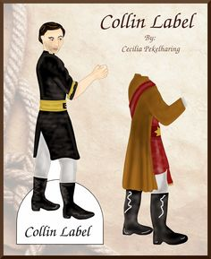The Dainty Damselfly : Free Printable Darline's Story, Collin Label, Paper Doll by Cecilia Pekelharing