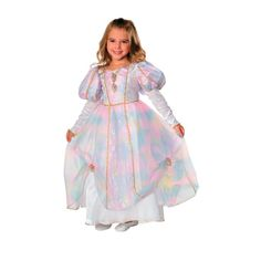 Rainbow Princess Girls Halloween Costume