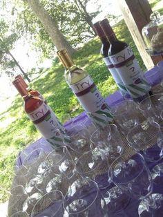 Wine Down grad party ideas