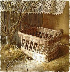 Country. Плетение из бумаги.