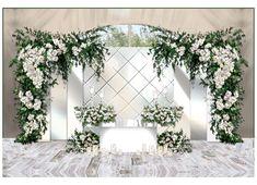 @sonikcolor Wedding Stage Backdrop, Wedding Backdrop Design, Wedding Hall Decorations, Wedding Reception Design, Wedding Arch Rustic, Wedding Mandap, Backdrop Decorations, Diy Wedding, Wedding Arch Flowers