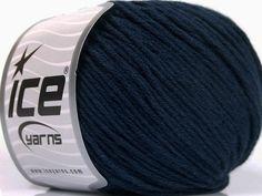Bahar - Yaz İplikleri Yazlık İplikler Pamuk Bambu Natural Yarn Double Knitting lacivert  İçerik 60% Bambu 40% Pamuk Navy Brand Ice Yarns fnt2-50549 Ice Yarns, Bamboo Light, Navy, Cotton, Fiber, Hale Navy, Low Fiber Foods, Old Navy, Navy Blue