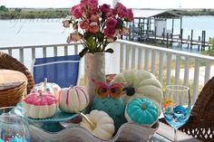 Home Decor, Finally Fall! Coastal Fall, Little Falls, A Pumpkin, Fall Pumpkins, Tablescapes, Fall Decor, Apron, Autumn 2017, Table Decorations