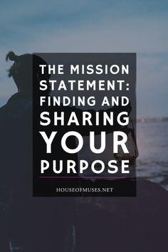 The Mission Statemen