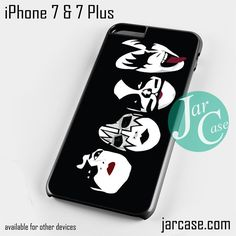 Kiss Band Phone case for iPhone 7 and 7 Plus