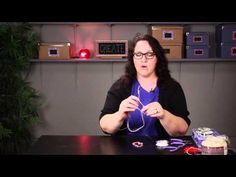 ▶ How to Tie Stretchy Bracelet Strings so They Stay Together : DIY Jewelry & Necklaces - YouTube
