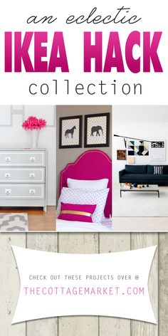 An Eclectic Ikea Hack Collection - The Cottage Market