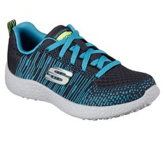 skechers flat knit jump sneaker | SKECHERS Garçon Burst - In the Mix - SKECHERS Canada