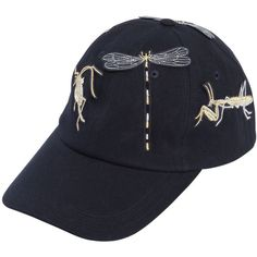 4b6f5d6ef41 Angel Chen Women Embroidered Baseball Hat (€175) ❤ liked on Polyvore  featuring accessories