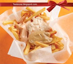 How to make French Fry War (Patatje Oorlog) Recipe - While the Belgians are the per capita fry-consuming champs of Europe, the Dutch are no. French Fries Recipe, War, Recipes, Food, Recipies, Eten, Meals, Recipe, Food Recipes