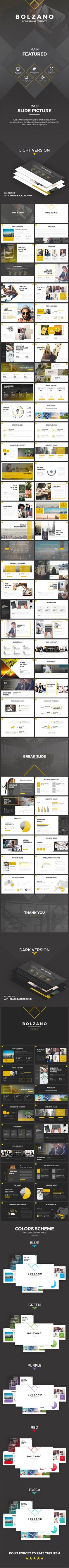 Bolzano - PowerPoint Presentation Template - 69 Slides