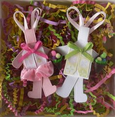 Easter Bunny Ribbon Sculpture