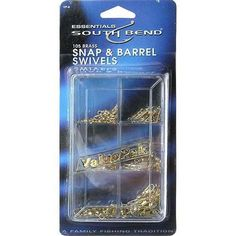South Bend Sporting Goods VP-8 Value Pack Swivel Kit-Value Pack Swivels, As Shown