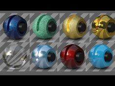 Tutorial No.13 : new Reflectance Channel in Cinema 4d R16 Explained , Inside out ! - YouTube
