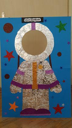 Yıldızlar sınıfımla uzaya hazırlık.