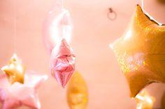 Mylar Star Decorations from a Twinkle Twinkle Little Star Birthday Party via Kara's Party Ideas KarasPartyIdeas.com (13)