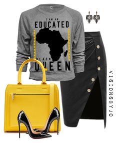 """""""Untitled #1431"""" by visionsbyjo on Polyvore featuring Victoria Beckham, Lulu Frost, women's clothing, women's fashion, women, female, woman, misses and juniors"""