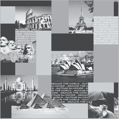 City Scape Wallpaper Around the World - http://www.muriva.com/portfolios/city-scape-wallpaper-around-the-world/