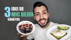 CE MAI MANANC DIMINEATA. 3 IDEI DE MIC DEJUN | Cristea Razvan Snickers Pie, Pastel Pink Hair, Mai, Paleo, Diet, Vegan, Healthy, Ethnic Recipes, How To Make