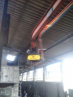 UNDER-SLUNG CRANE CAPACITY:1TON | sb engineers-crane manufacturers ...