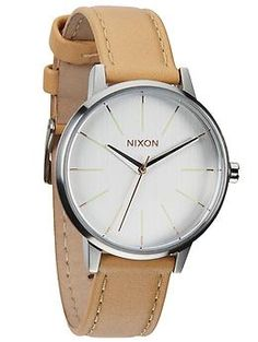 Nixon Kensington Leather | Piperlime